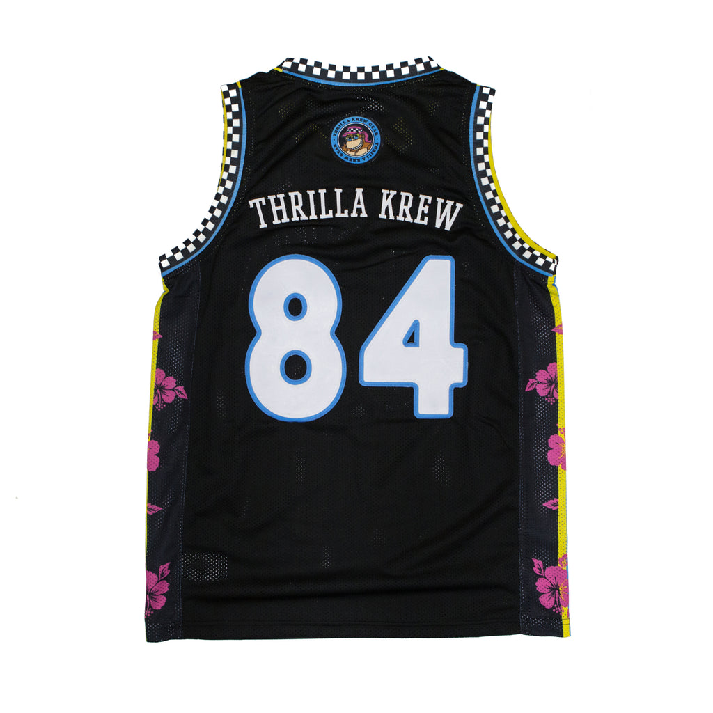 Thrilla Gorilla Aloha Basketball Jersey (Black Friday Release)
