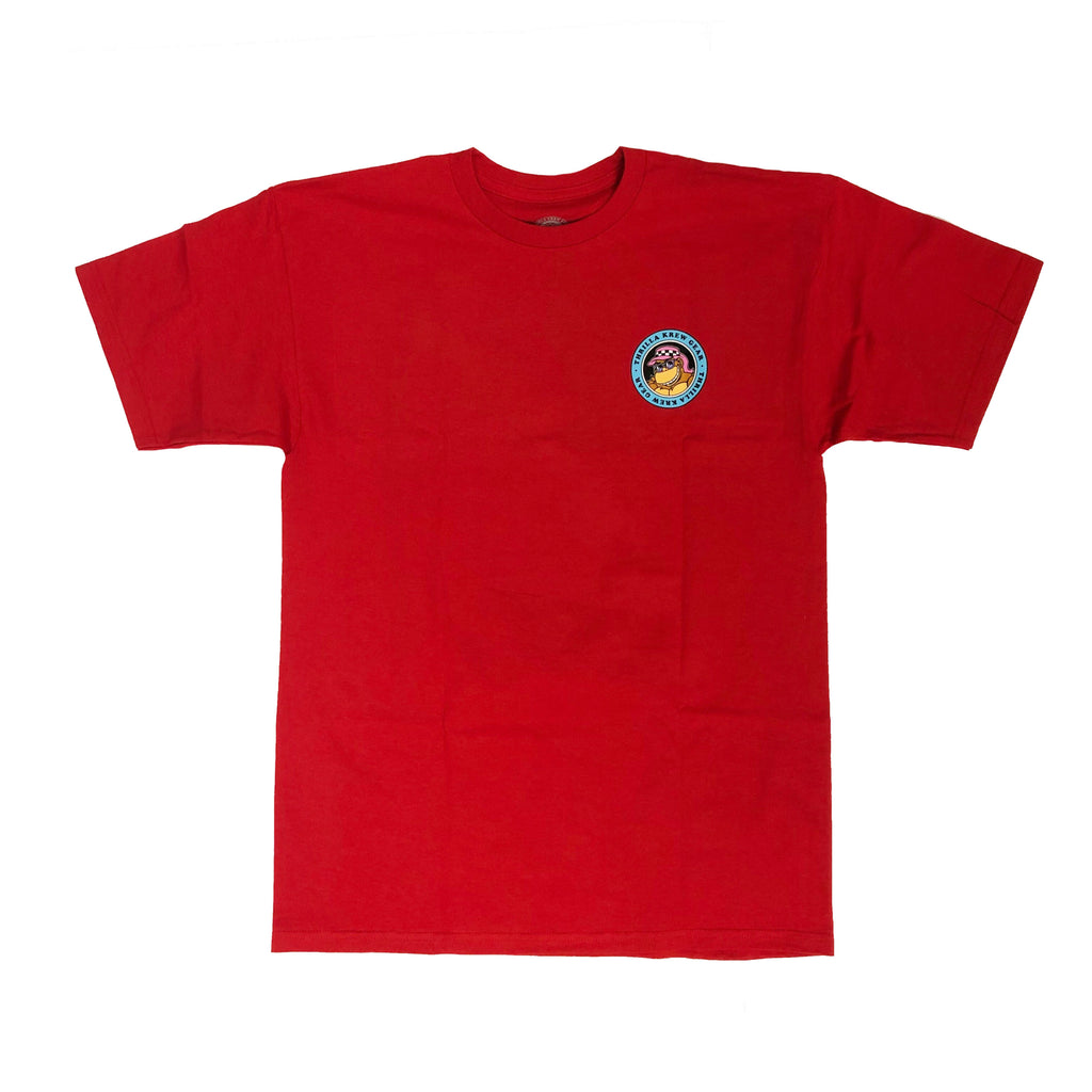 Da'Boys Classic 80s Thrilla Krew Tee (Red)