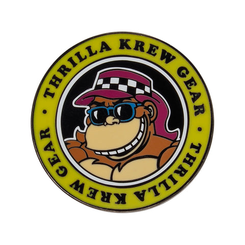 Thrilla Gorilla Dot Logo Lapel Pin