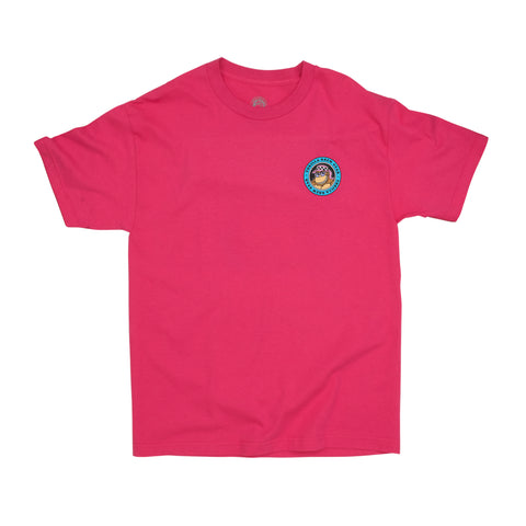 Hardcore Detective Stories Thrilla Krew Tee (Hot Pink)