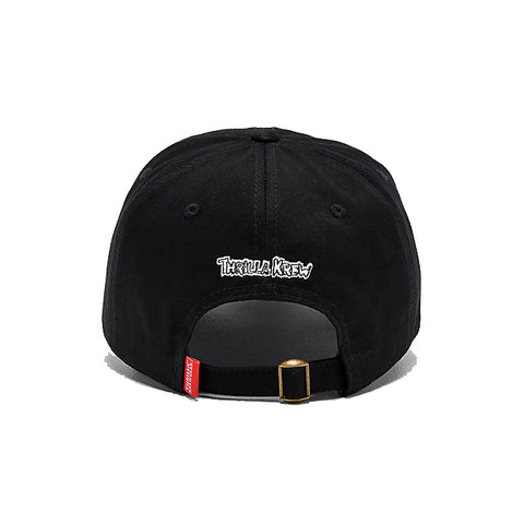Surf Jerks Strapback Dad Hat (Black)