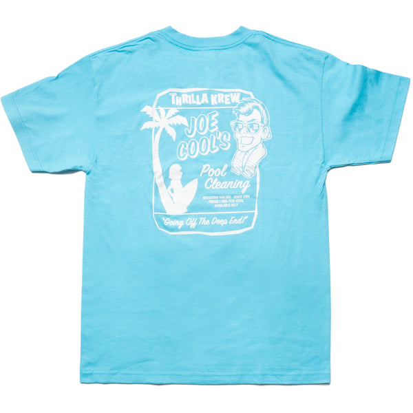 Joe's Pool Service Thrilla Krew Tee (Pacific Blue)