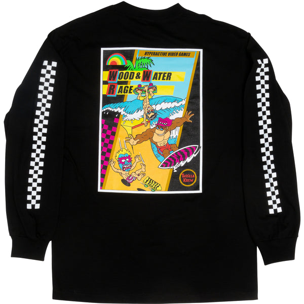 Thrilla Krew NES Wood Water Rage Long Sleeve (Black)