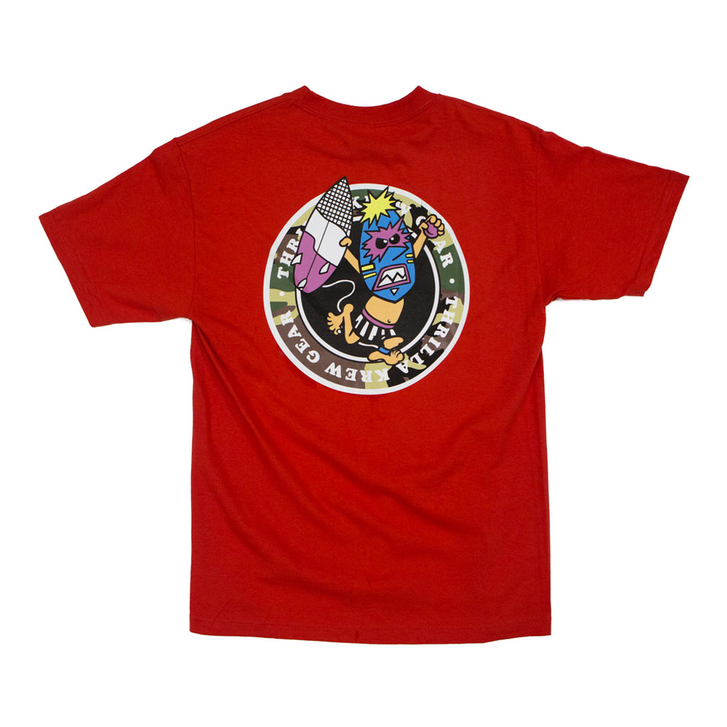 Wave Warrior Camo Pack Tee (Red)