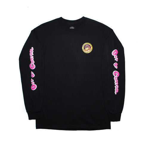 Out Of Control Long Sleeve (Black)