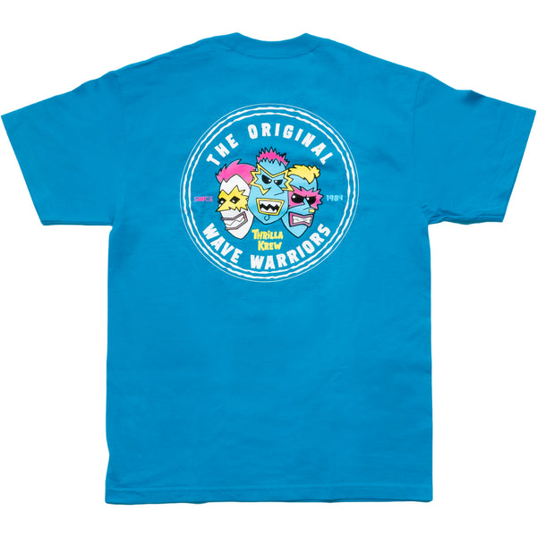 Original Wave Warriors Tee (Turquoise)