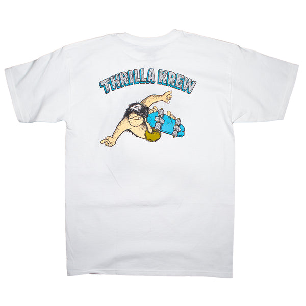 Primal Pete Checker Thrilla Krew Tee (White)