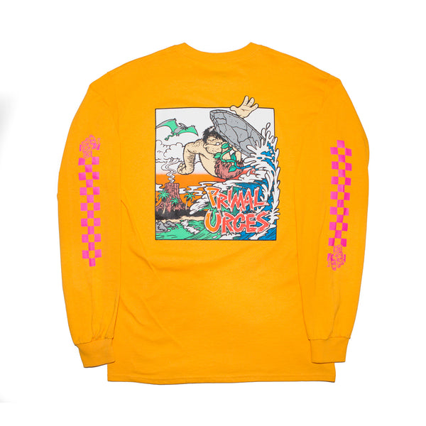 Primal Urges Surf Long Sleeve (Yellow)