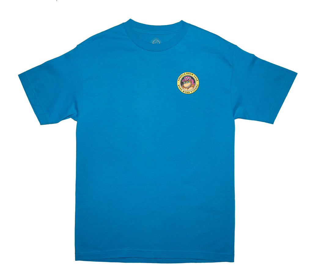 Shark Repellant Thrilla Krew Tee (Turquoise)