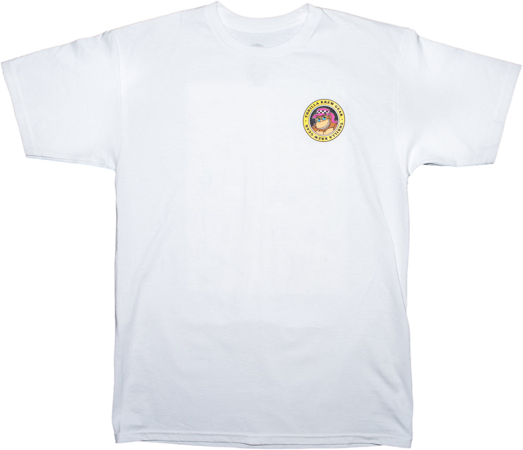 Shark Repellant Thrilla Krew Tee (White)