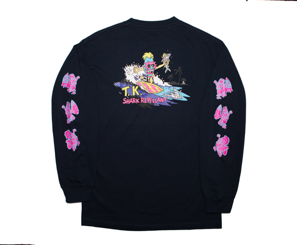 Shark Repellant Long Sleeve (Navy)   *****Only One Small Left*****