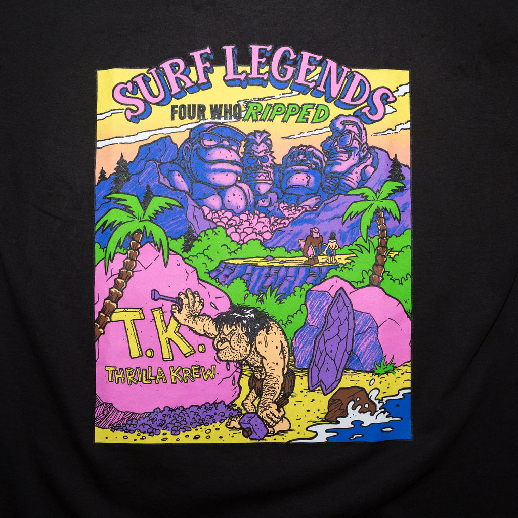 Surf Legends Thrilla Krew Tee (Black)