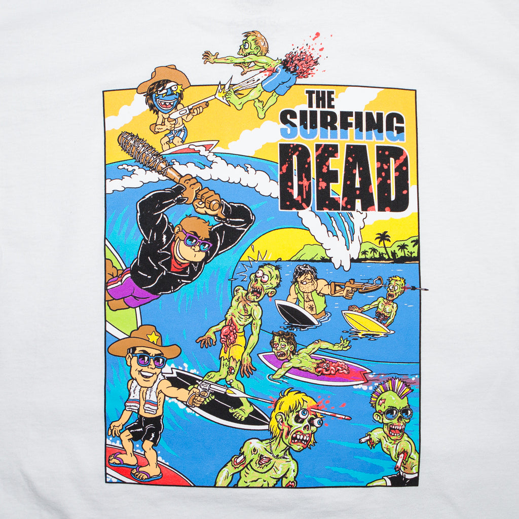 The Surfing Dead (White)