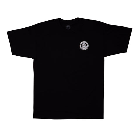 Thrilla Gorilla Dot Logo Tee (Black)