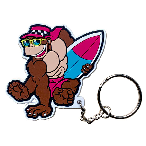 Thrilla Gorilla Surf PVC Key Chain