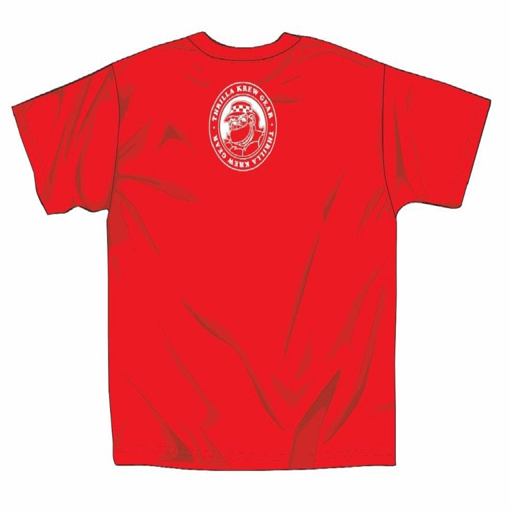Thrilla Walk Youth Tee (Red)
