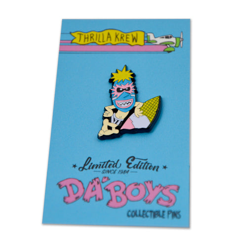 Wave Warriors DaBoys Series Lapel Pin