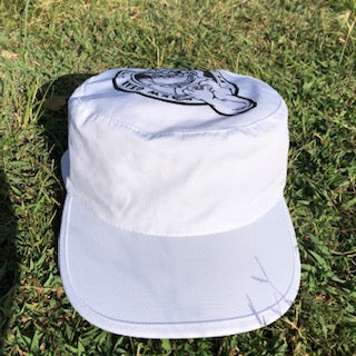 Thrilla Shaka Painters Cap (White)