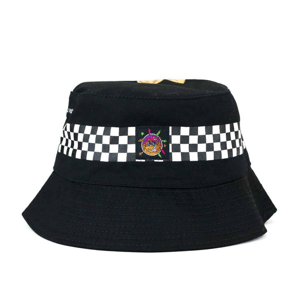 Big Freeze Slushcult x Thrilla Krew Checkered Bucket Hat (Black)