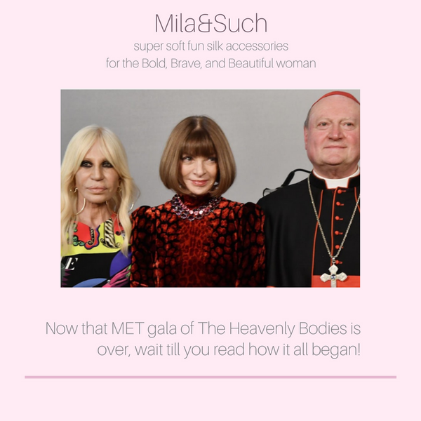 Now that MET gala of The Heavenly Bodies is over, wait till you read how it all began!
