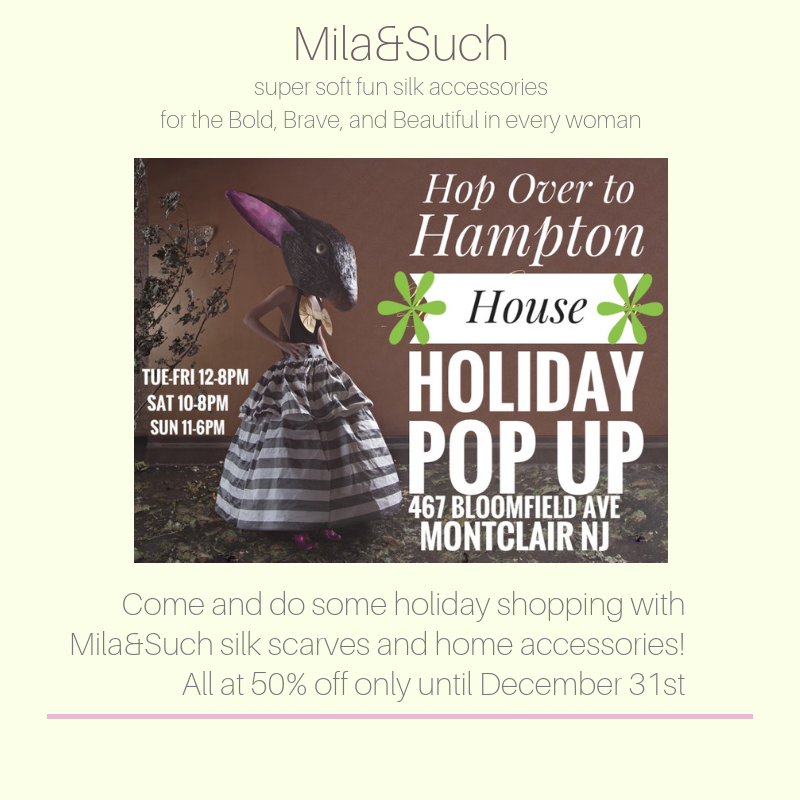 Holiday Pop Up Shop In Montclair, NJ