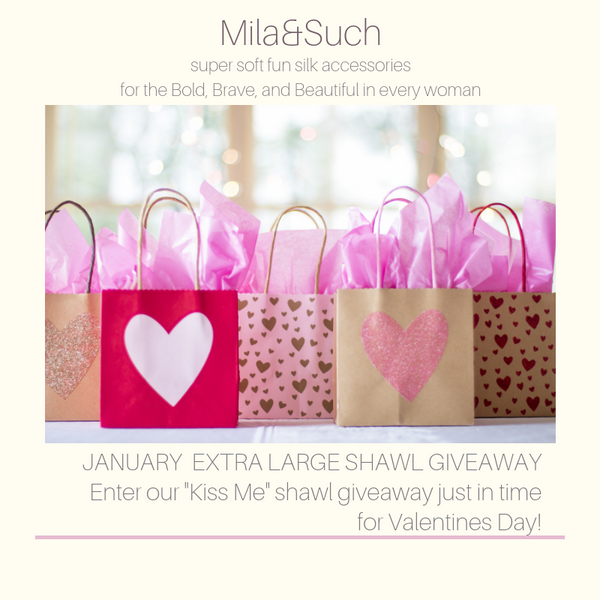 NEW! Giveaway is ON! Win Extra Large Silk