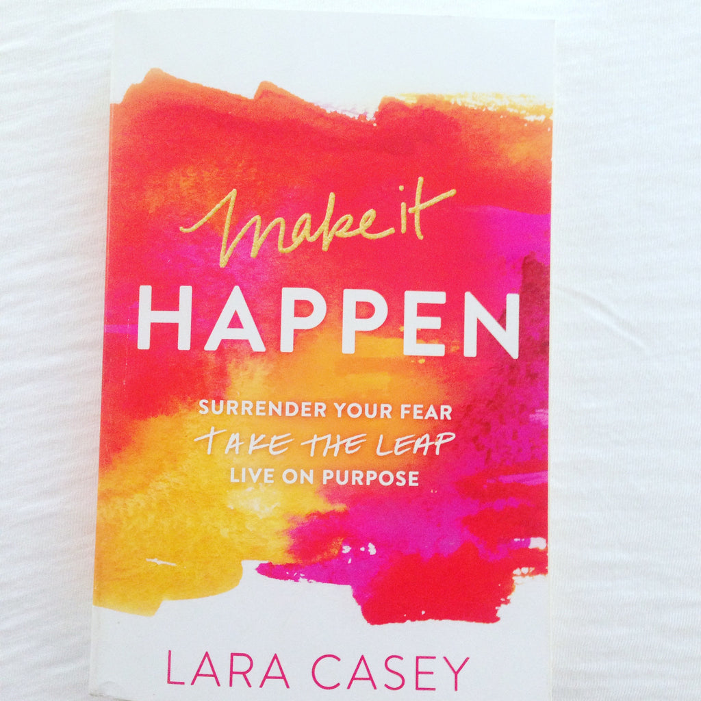 Post Its from Make It Happen by Lara Casey