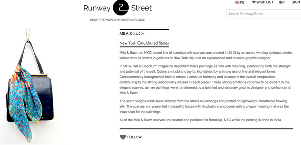 We are going Runway2Street!!!