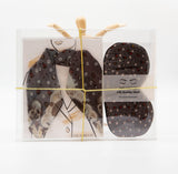 Bare Bones Neckerchief Scarf & Eye Mask Gift Set