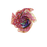 FORESEE Silk Square Scarf Neckerchief Canterbury