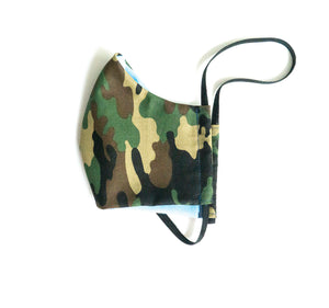 """BattleField"" Fashion Cotton Face Mask With Filter (ADULT)"