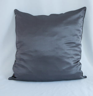 BARE BONES Silk Pillowcase Accent Decorative Throw Pillow/Cushion