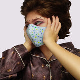 """Soda Pop"" Fashion Cotton Face Mask/Elastic With Filter (Adult)"