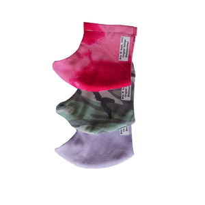 """Pink Tie Dye"" Fashion Cotton Face Mask/Elastic With Filter (Adult)"