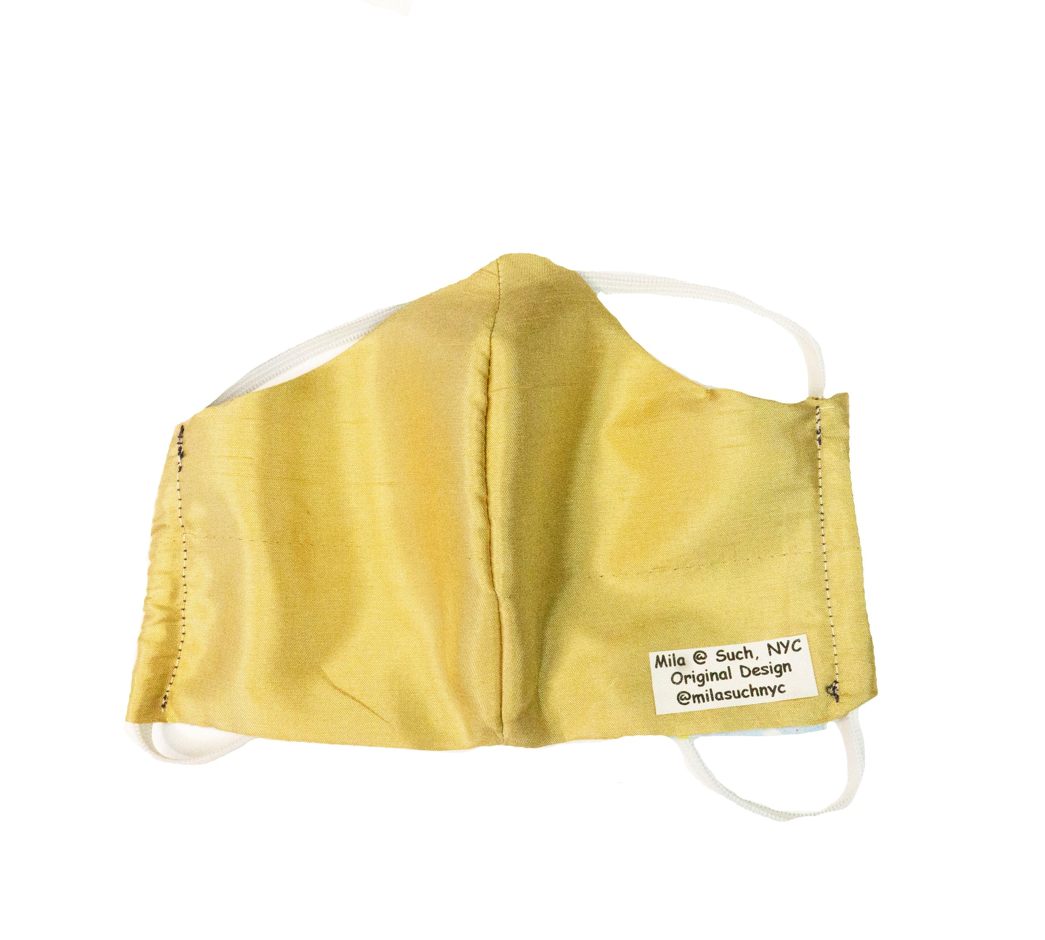 """Sunshine"" Fashion Silk/Cotton Face Mask With Filter (Adult)"