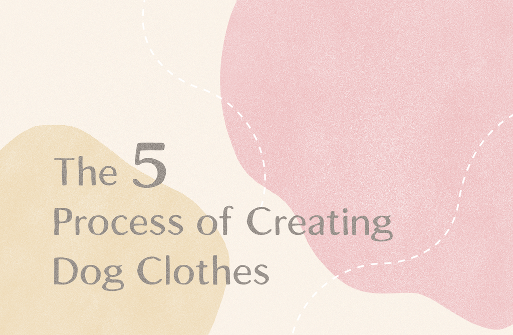 The 5 Process of Creating Dog Clothes