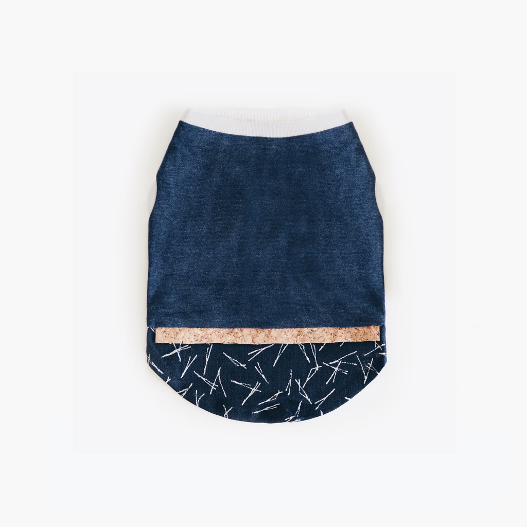 Indigo Twigs Patterned Tank - Tank - opdsg