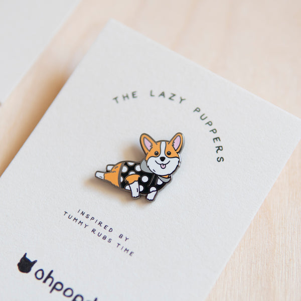 Corgi Pin - Living - opdsg