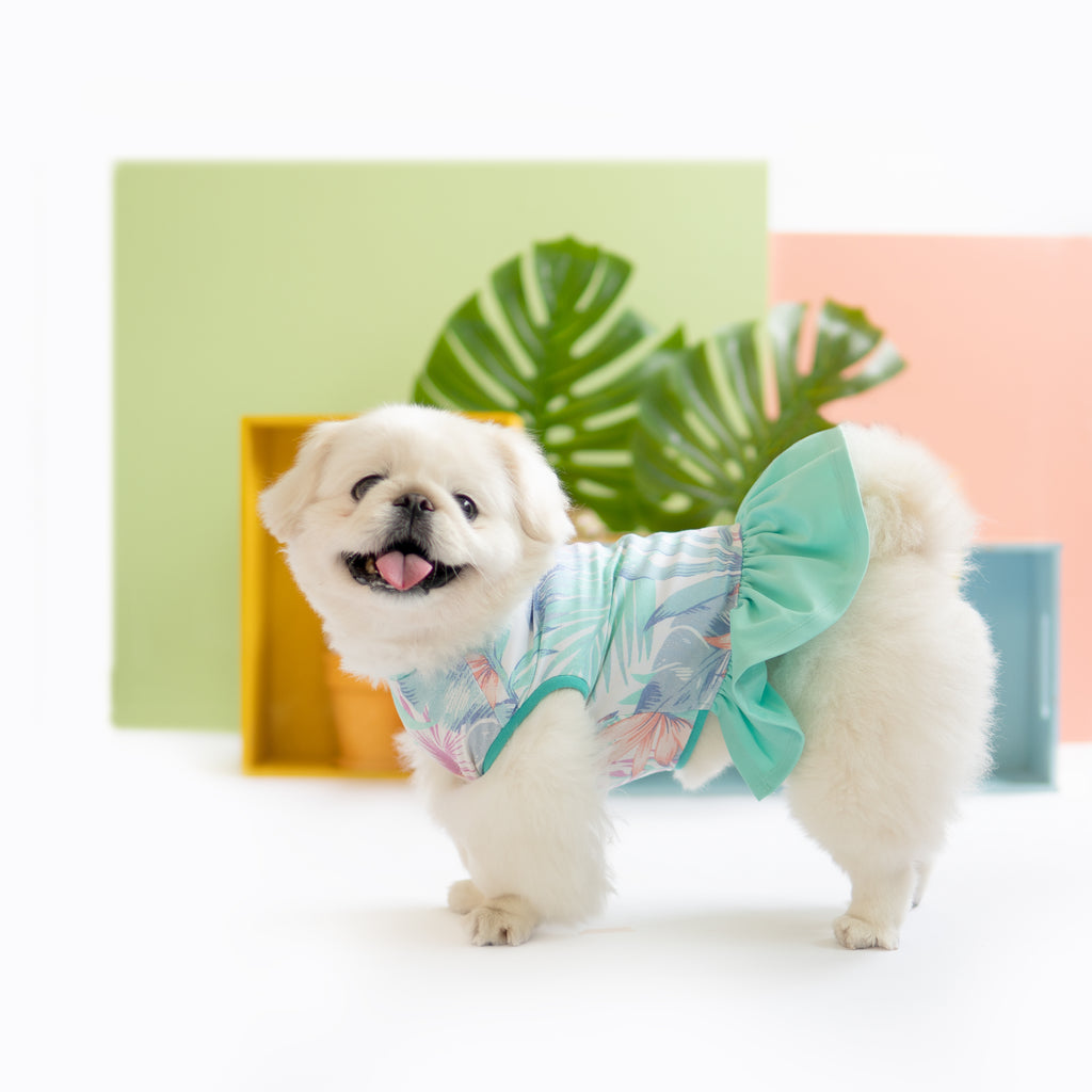 Aloha Dress Top, Dog Dress Top, Ohpopdog