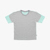 Mint Grey Striped Colorblock Tshirt - Human - opdsg