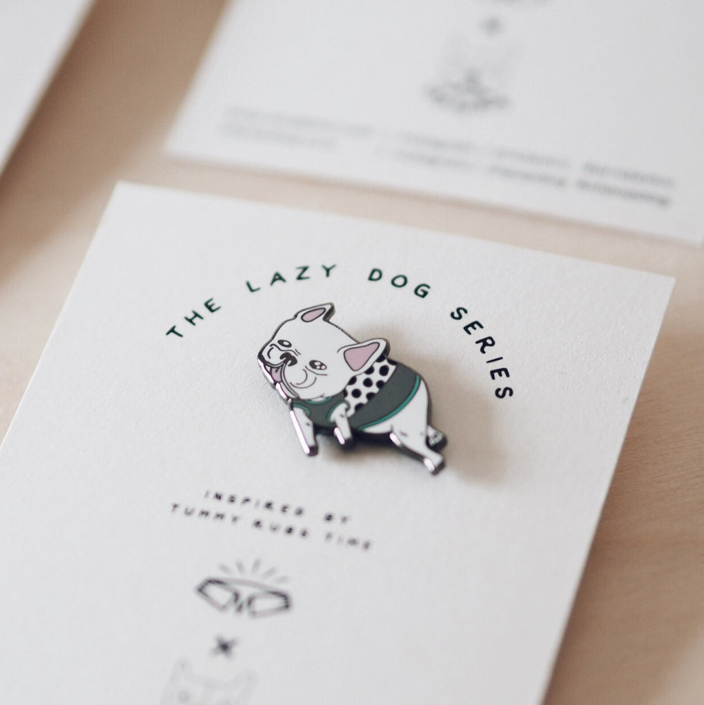 French Bulldog Pin - Living - opdsg