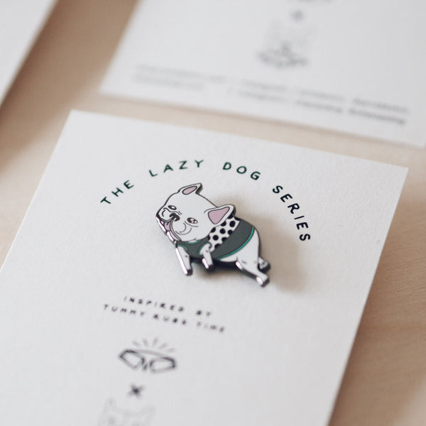 French Bulldog Pin, Dog Living, Ohpopdog