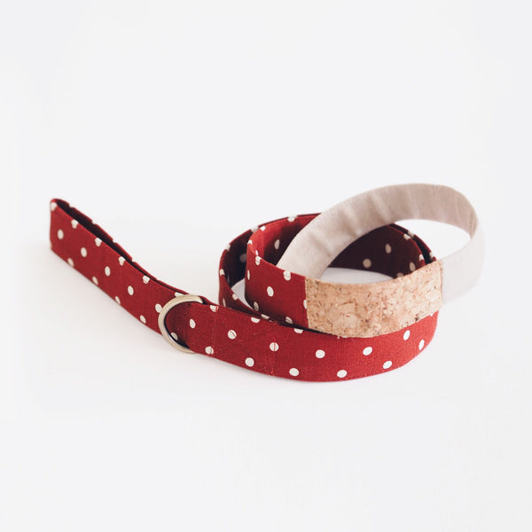 Polka Dot Trio Leash, Dog Leash, Ohpopdog