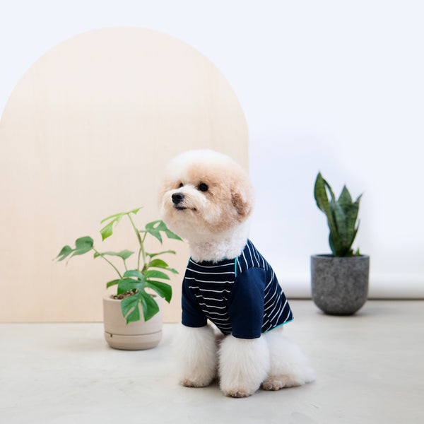 Snug-in Navy Striped Jammies
