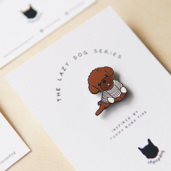 Poodle Pin - Living - opdsg