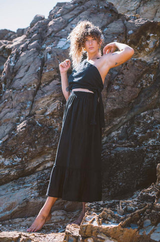 Selkie Skirt Black