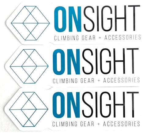 Sticker - Onsight 3 -Pack