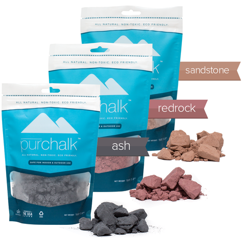 Pur Chalk - 3 Pack Colored Chalk Bundle