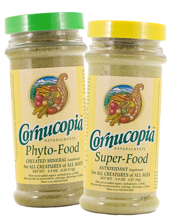 Cornucopia Phyto-Food & Super-Food Pet Suplements