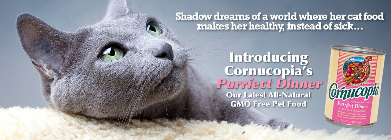 Cornucopia's Purrfect Dinner - The Healthy Choice For Cats